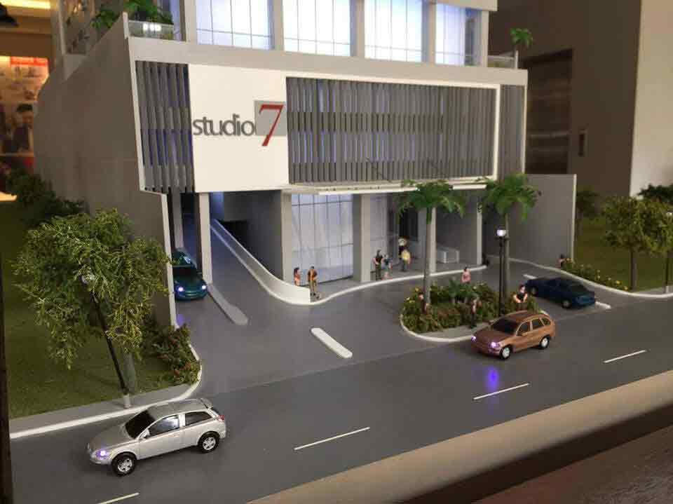 Studio 7 Filinvest  - Front View