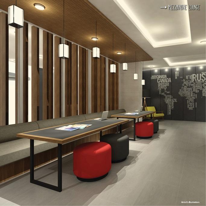 Studio 7 Filinvest  - Mezzanine Lounge