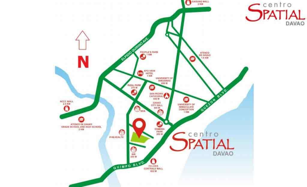 Centro Spatial Filinvest - Location & Vicinity