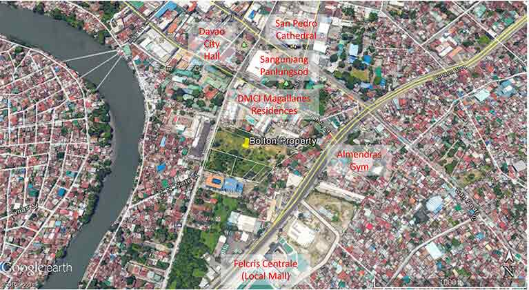 Centro Spatial Filinvest - Map