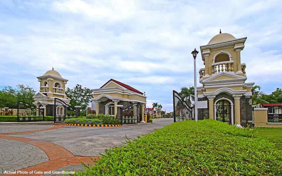 San Rafael Estates - Front Gate