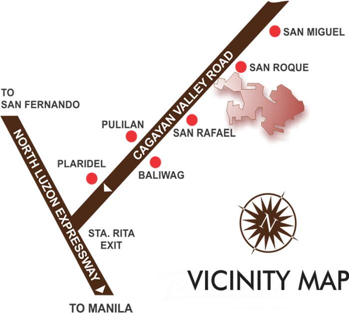 San Rafael Estates - Location & Vicinity