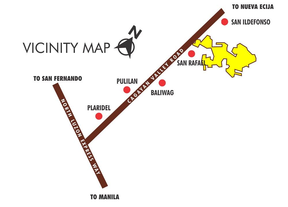 Tierra Vista - Location & Vicinity