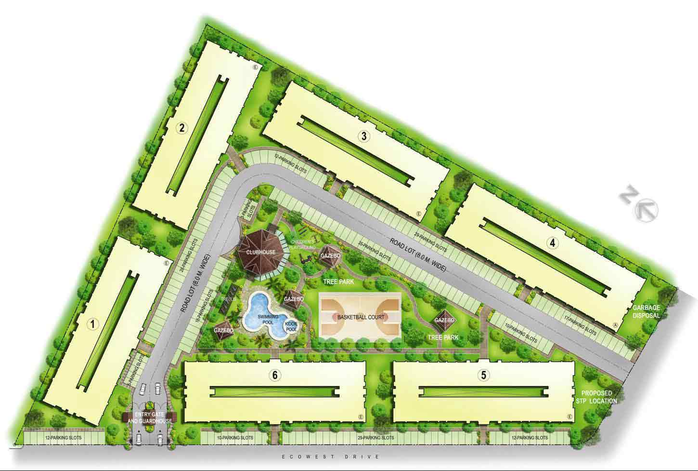 One Oasis Davao - Site Development Plan
