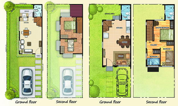 Futura Homes San Pedro - Floor Plan
