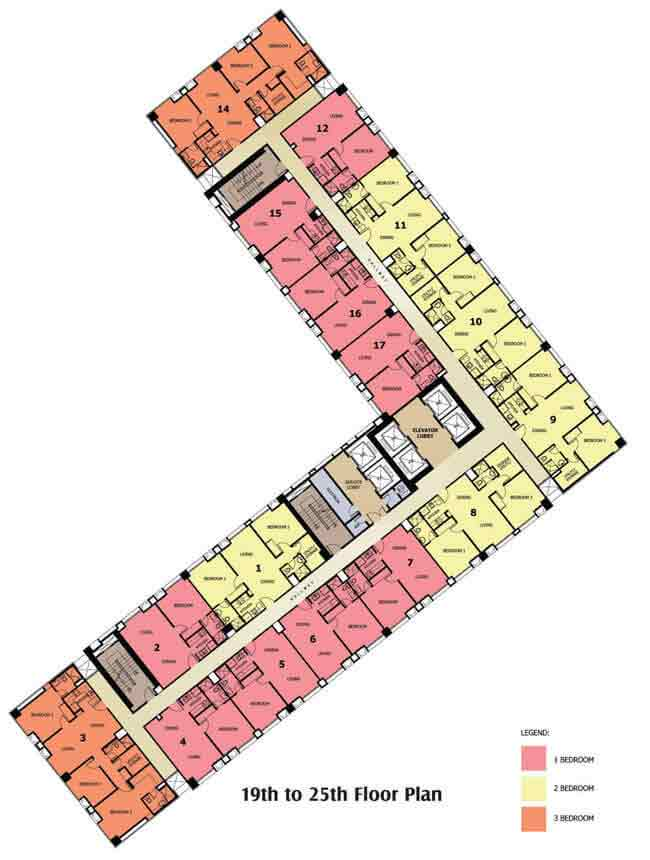 Grand Cenia Cebu - Floor Plan