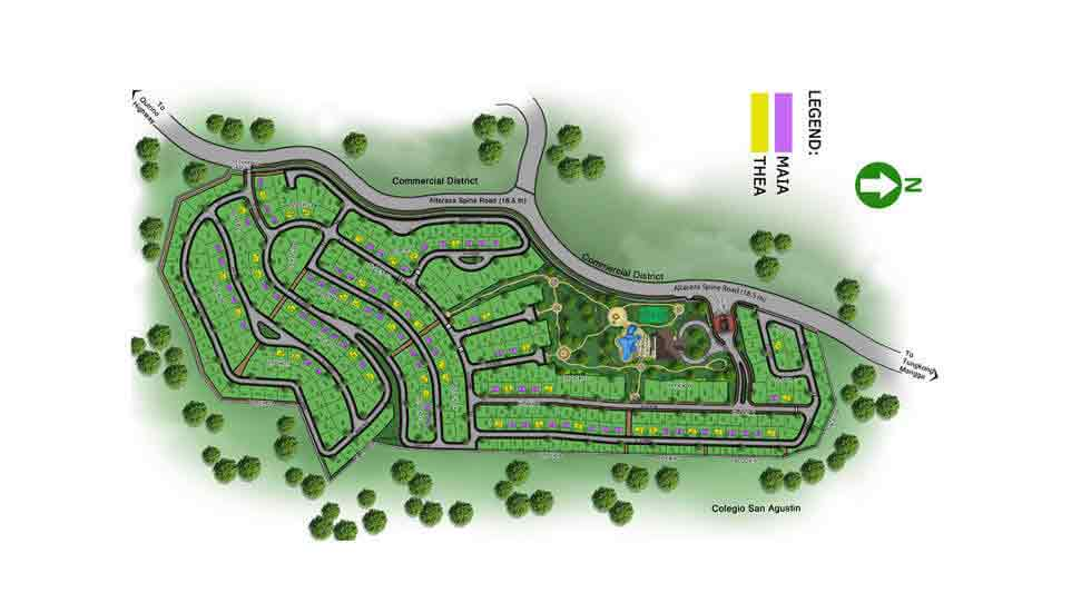 Avida Settings Altaraza - Site Development Plan