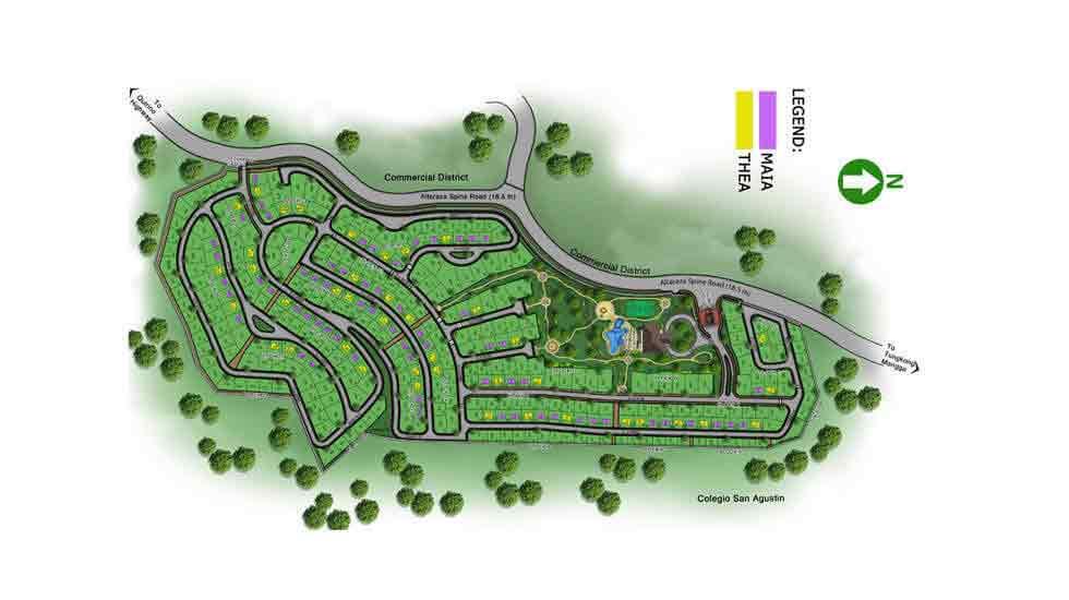 Avida Settings Altaraza - Site Development Plan