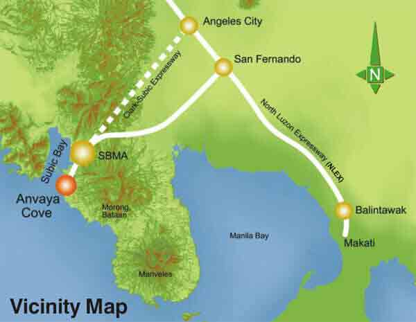 Axis Residences  - Vicinity Map