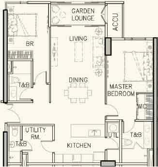 Arbor Lanes - 2-Bedroom Classic