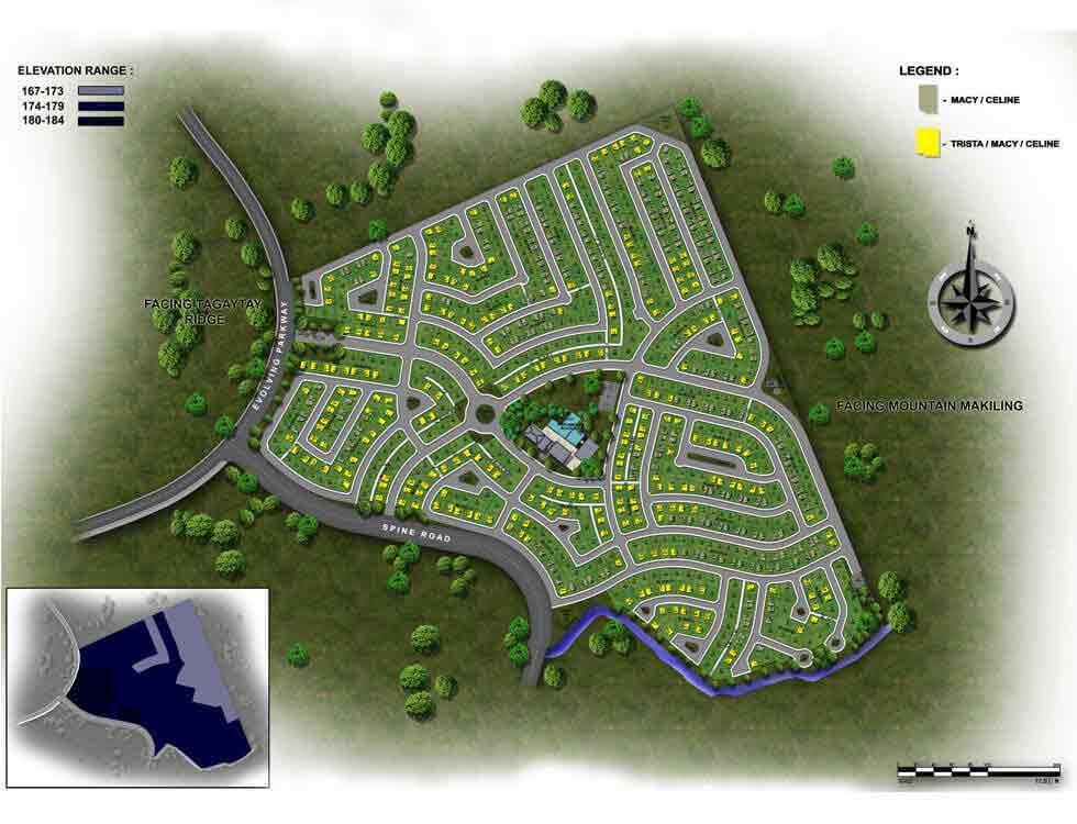Avida Southfield Settings NUVALI - Site Development Plan
