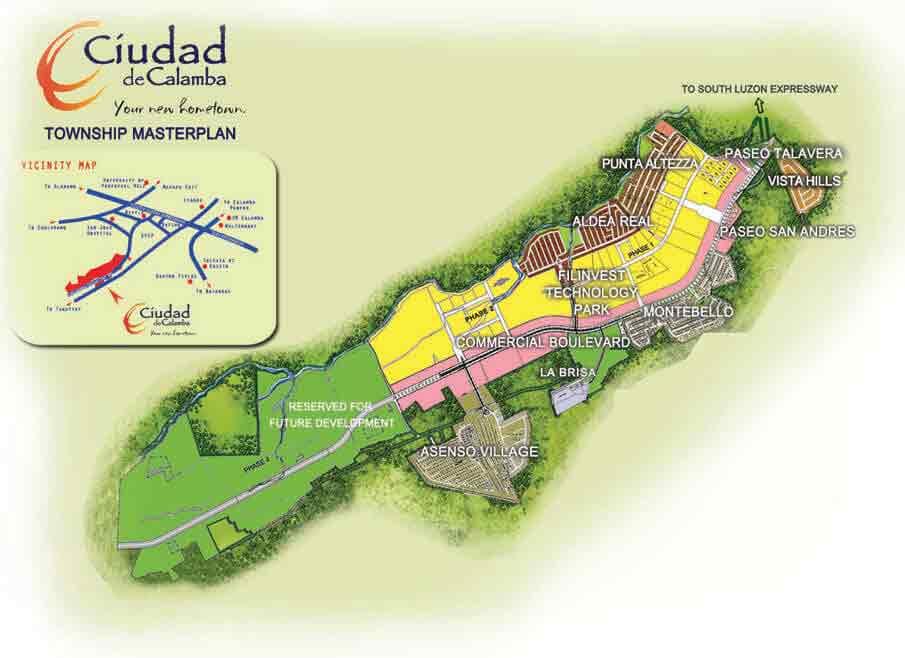 Asenso Village - Master Plan