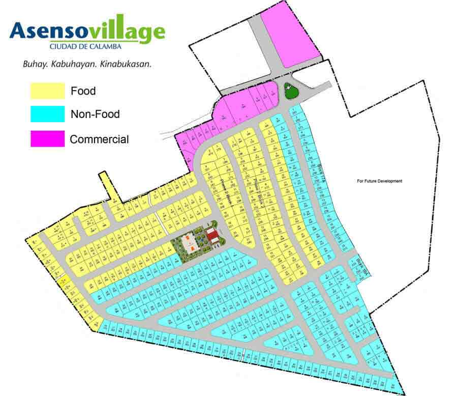Asenso Village - Site Develomment Plan