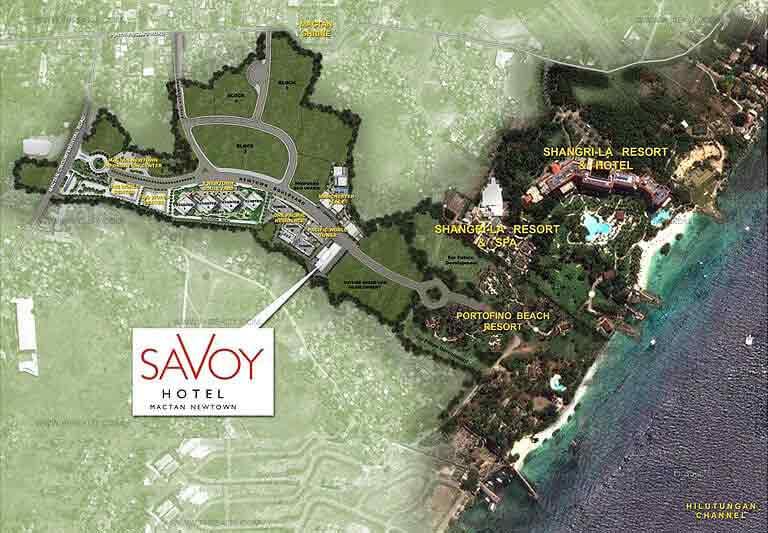 Savoy Hotel Mactan - Location & Vicinity