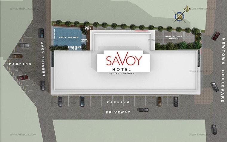 Savoy Hotel Mactan - Site Development Plan