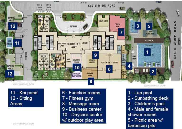 Golfhill Gardens - Amenities Plan