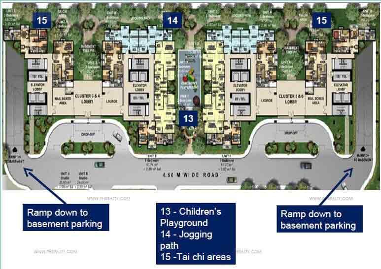 Golfhill Gardens - Amenity Floor Plan