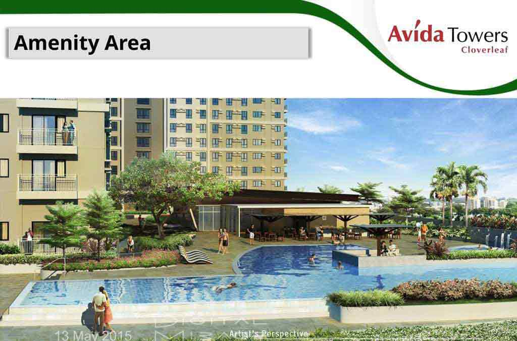Avida Towers Cloverleaf  - Amenity Area