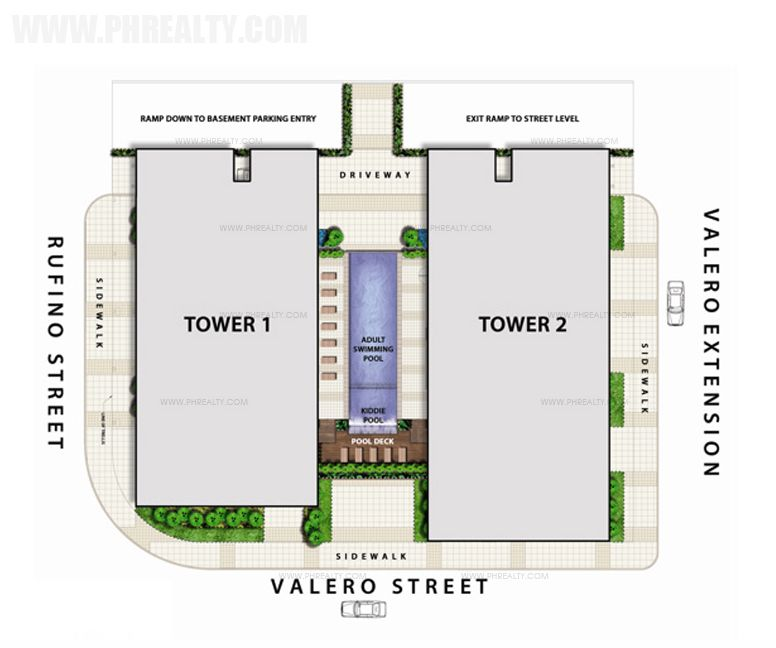 The Capital Towers - Site Development Plan