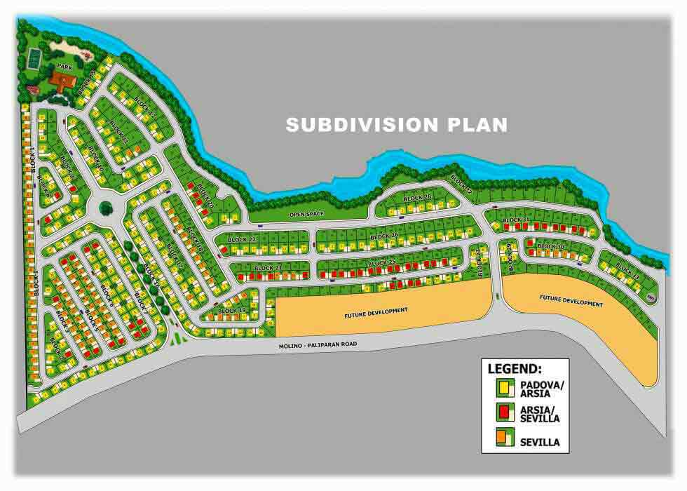 Avida Village Santa Cecilia - Site Development Plan