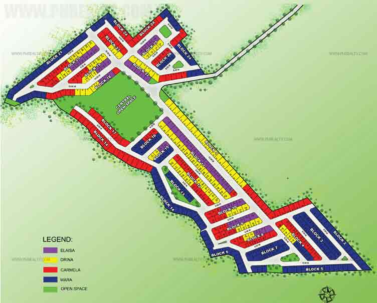 Camella Angeles - Site Development Plan