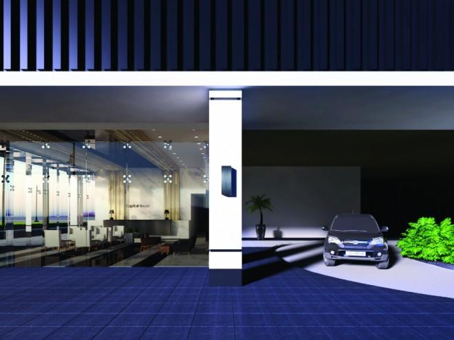 Capital House  - Podium and Basement Car Parking