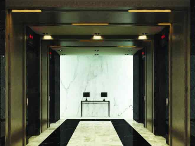 Capital House  - Elevator Lobby