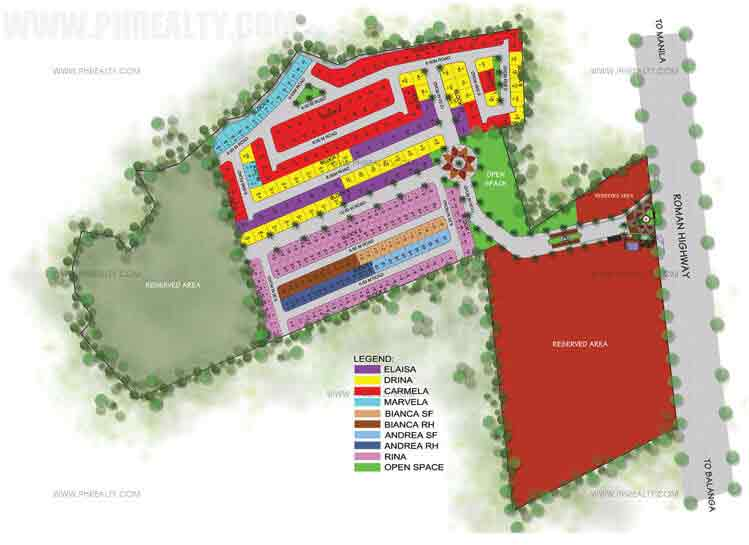 Camella Bataan - Site Development Plan