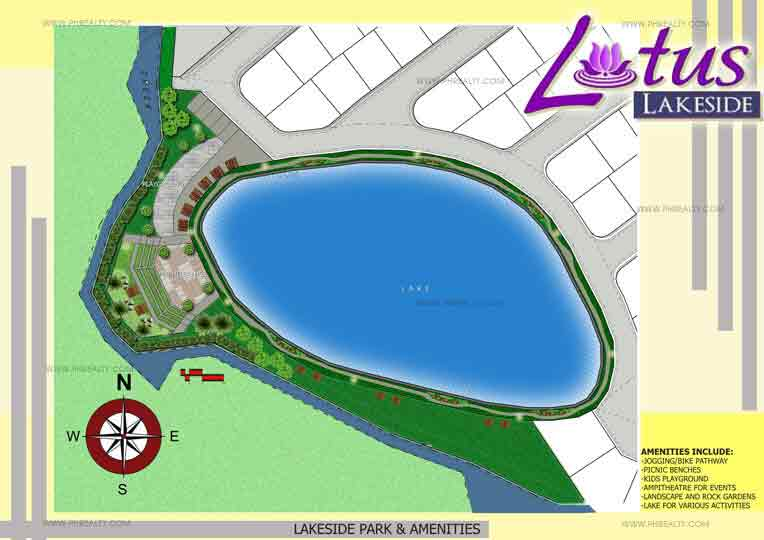 Lotus Grand - Lakeside Amenity Plan