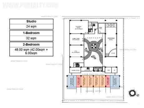 Escalades East Tower - Floor Plan Level 3