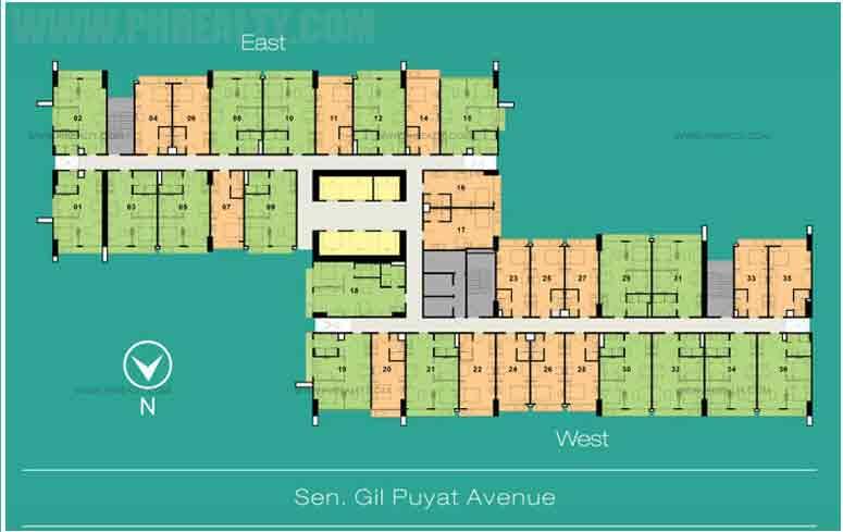 100 West - Floor Plans