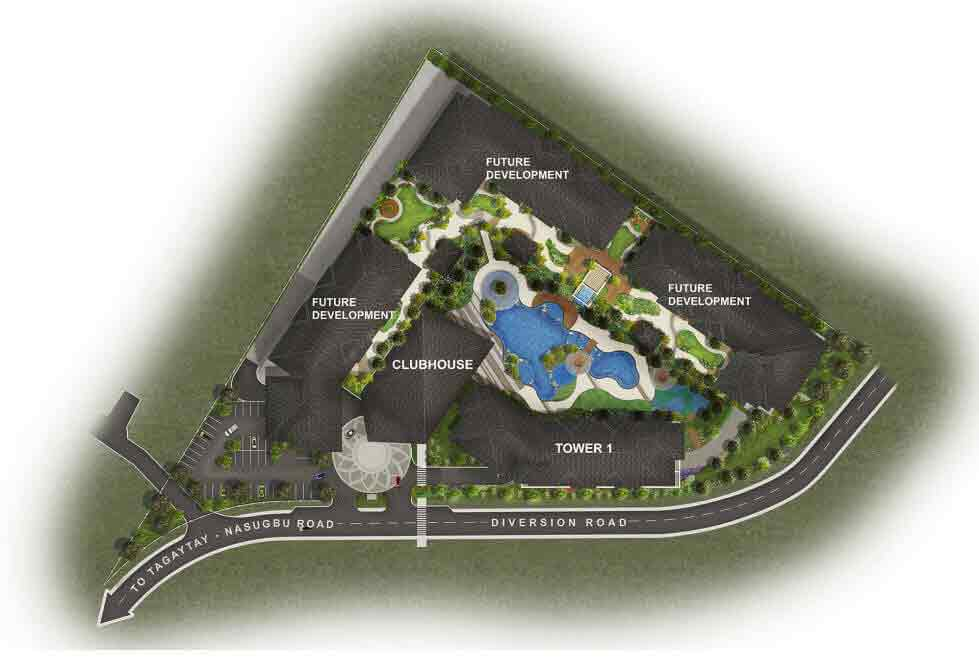 Serin East Tagaytay  - Site Development Plan
