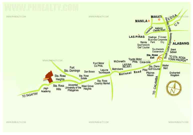 The Mandara  - Location & Vicinity