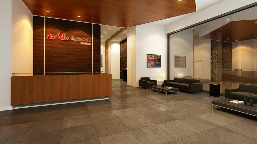 Avida Towers Davao - Reception Area