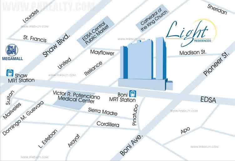 Light Residences - Location & Vicinity