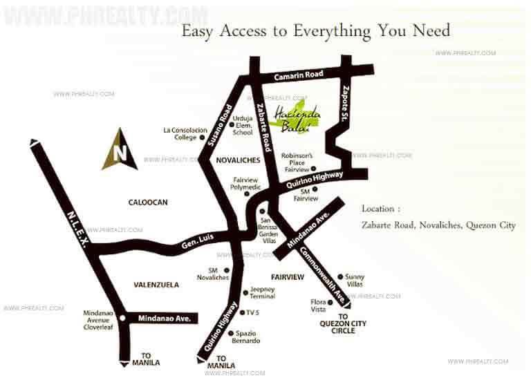 Hacienda Balai - Location & Vicinity