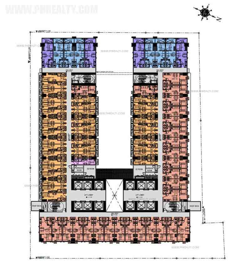 Green Residences - 9th Floor Plan
