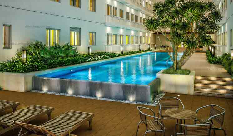 Green Residences - Pool
