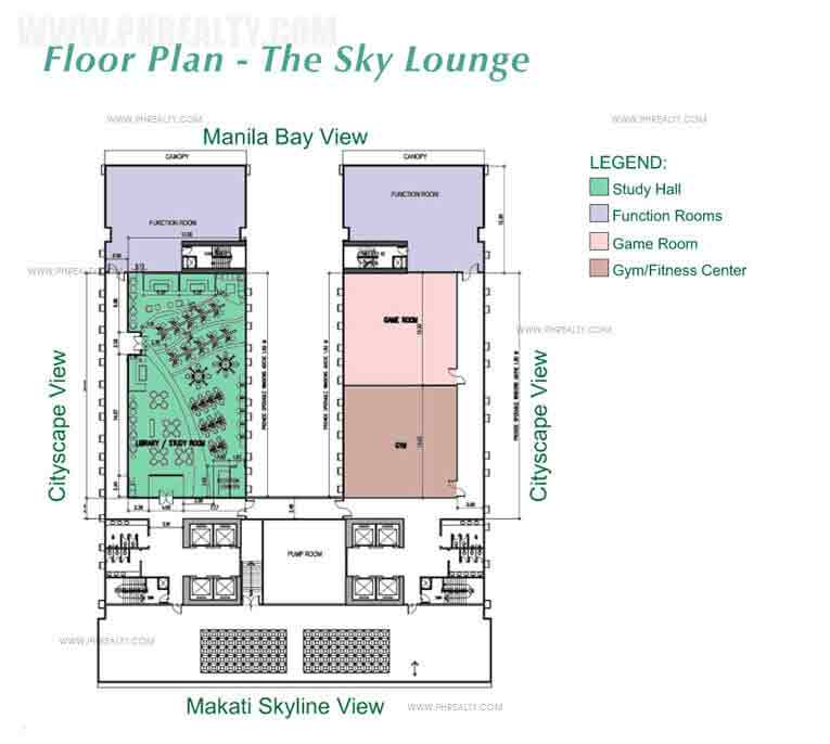 Green Residences - Sky Lounge Floor