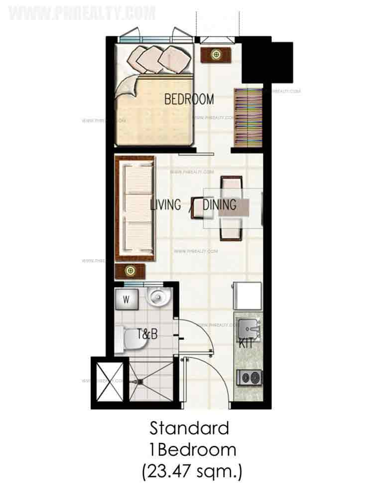 Green Residences - 1 Bedroom