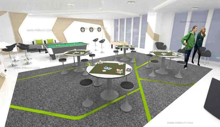 Mezza ll Residences - Student Lounge