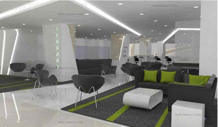Green Residences - Study Lounge