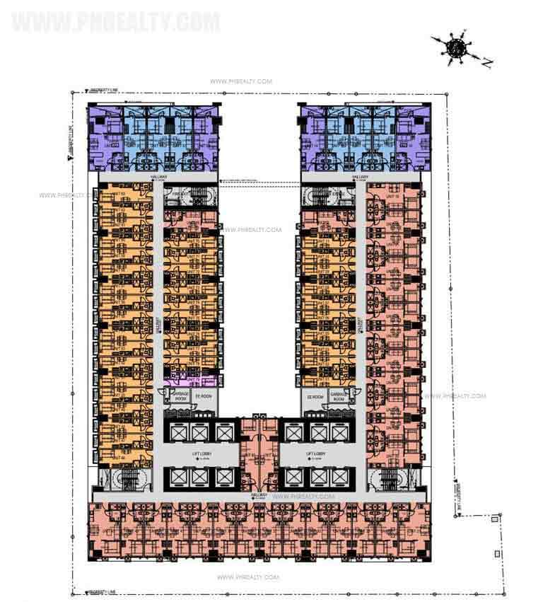 Green Residences - 20th-26th Floor Plan