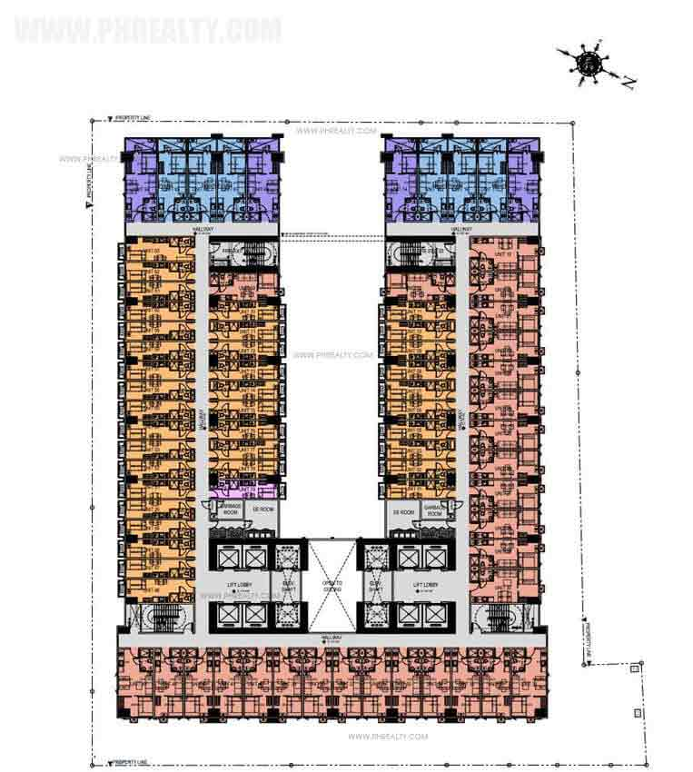 Green Residences - 29th-31st Floor Plan