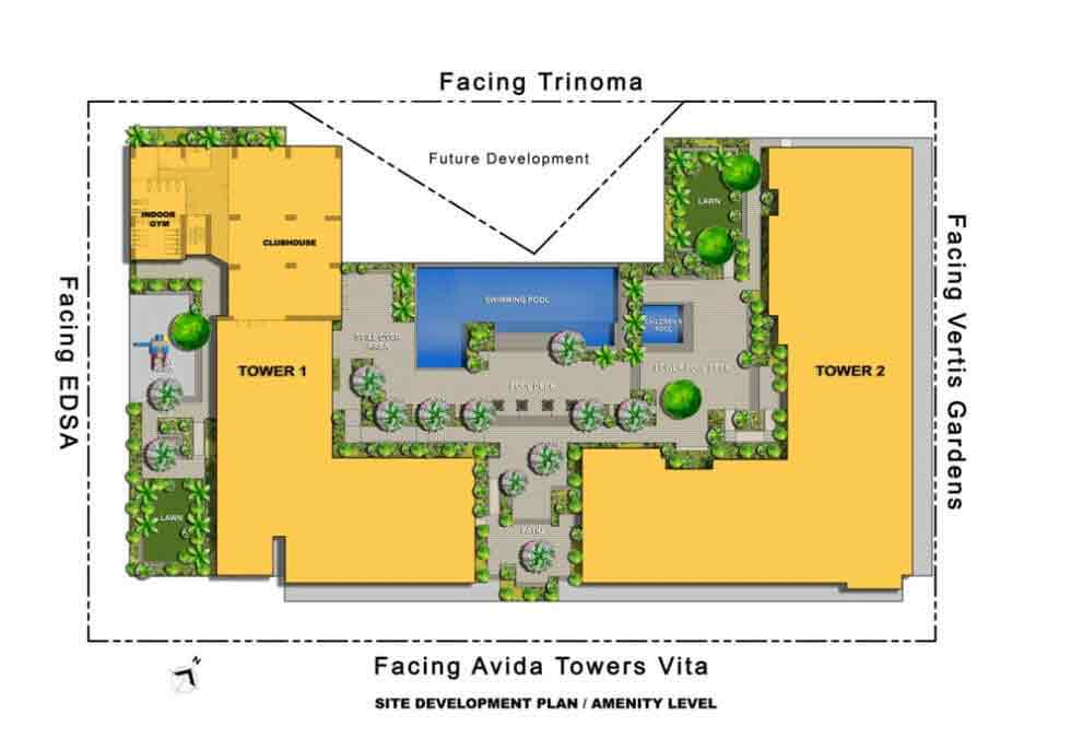 Avida Towers Sola - Site Development Plan