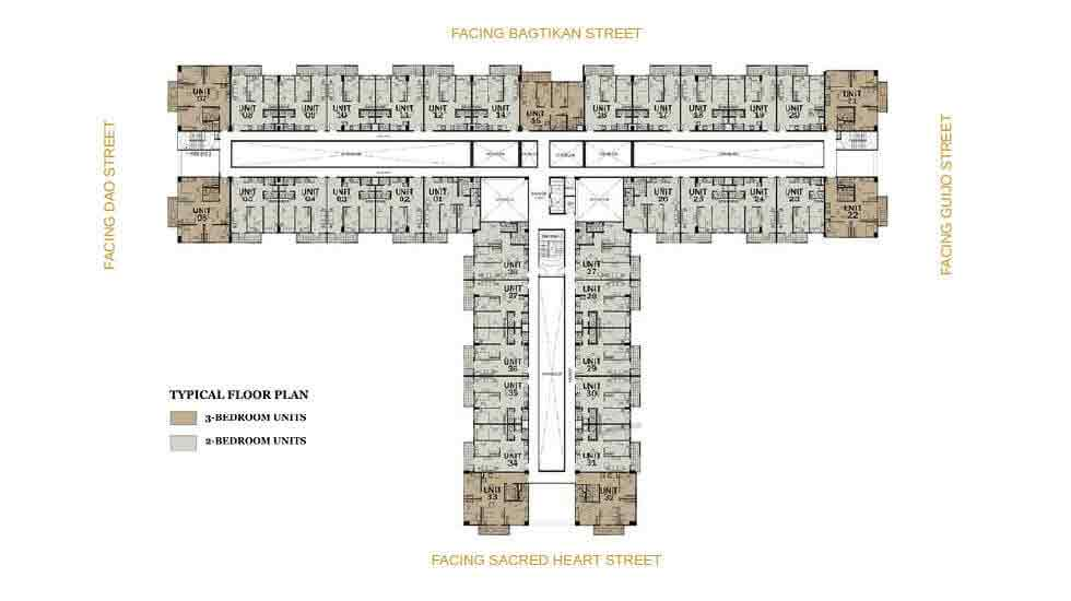 One Antonio - Typical Floor Plan