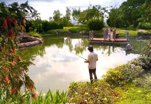 Ayala Greenfield Estates - Fishing Lagoon