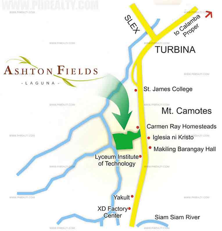 Ashton Fields - Location & Vicinity