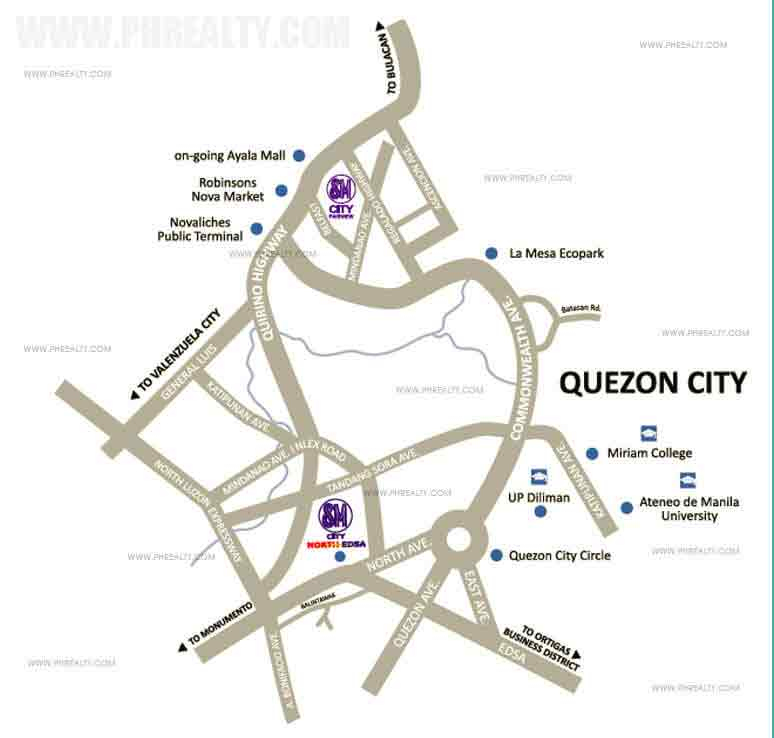 Trees Residences - Location & Vicinity