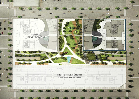 East Gallery Place - Site Development Plan